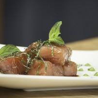 Sashimi de Atún a la Menta