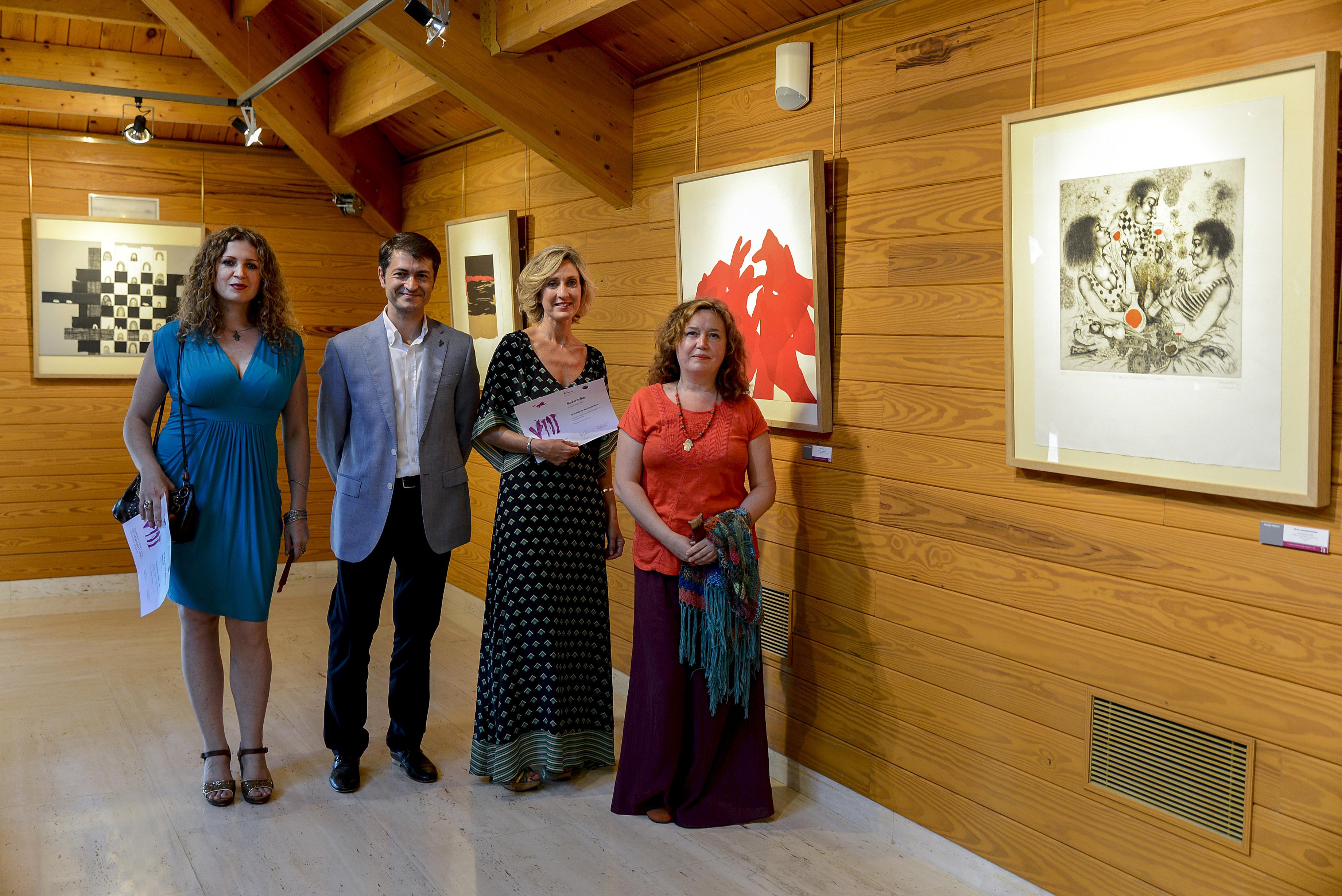 Svetlana Kalachnik, Rafael Vivanco, Susana Ortega y Elena Jiménez
