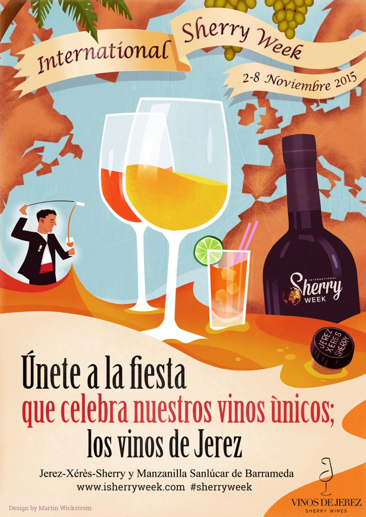 InternationalSherryWeek-Poster-A5-Spanish (2)