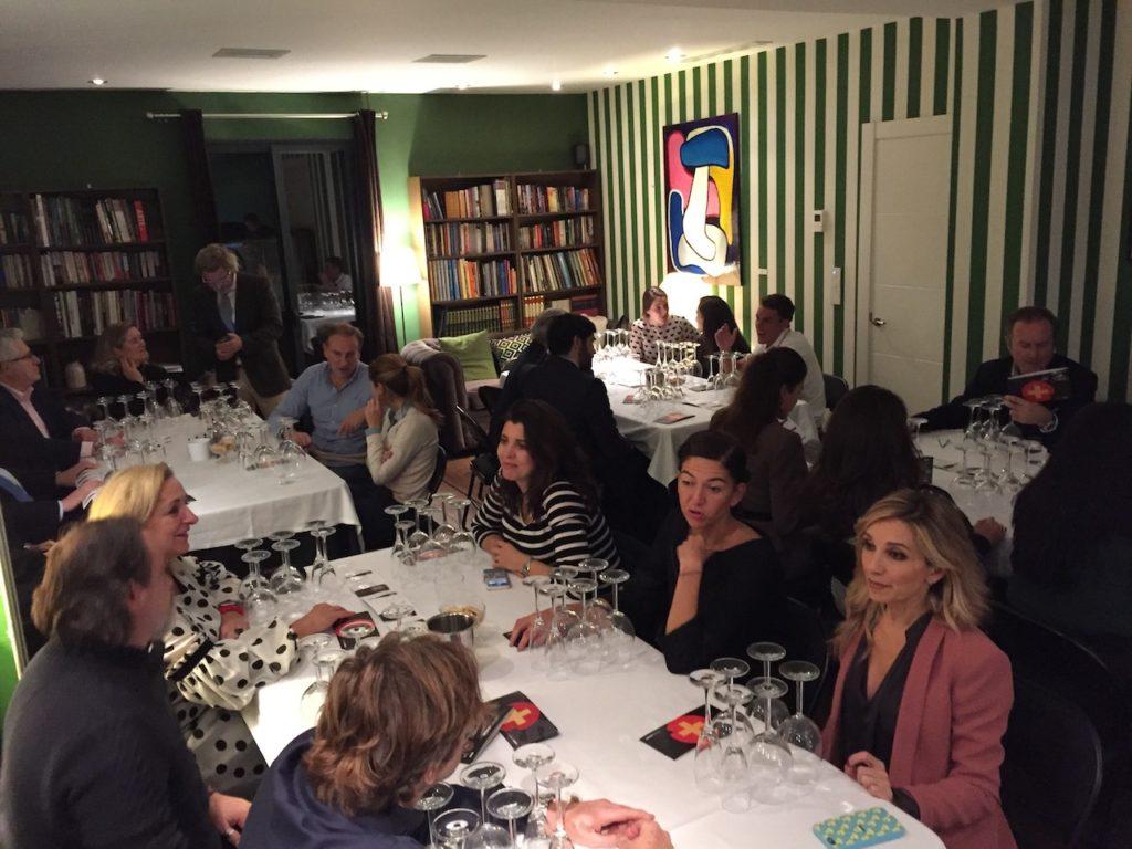 cata, hispano+suizas, vino, Madrid, casa club, foodies, bodega, cava, rosado, tinto, enología