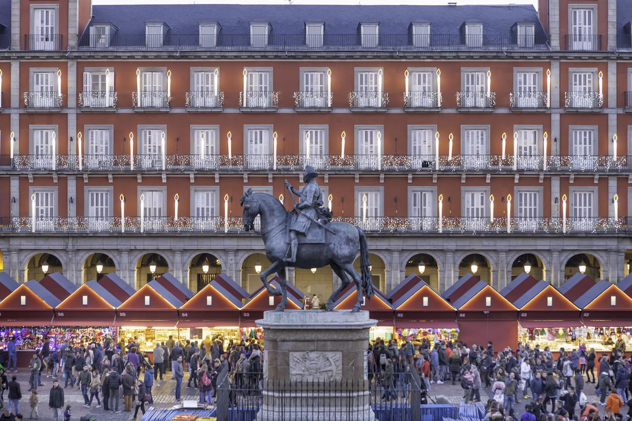 Navidad, mercadillos, mercado, Madrid, lifestyle, plaza mayor, tradición,