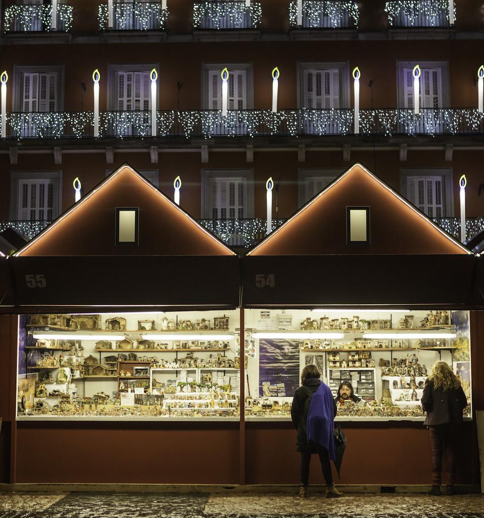 navidad, mercado, madrid, lifestyle, plaza mayor, tradición,