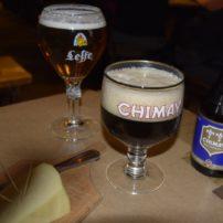 Cerveza artesana y queso belga