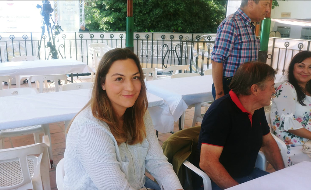 Mª José Martínez, presidenta del jurado del Concurso Internacional de la Paella de Sueca